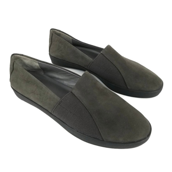 Eileen Fisher Chase Loafer Slip On Shoe Leather